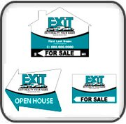 Real Estate Signs Exit Realty